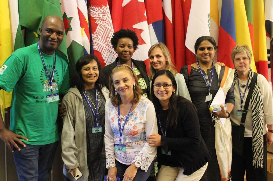 StreetNet delegates at the 107th Session of the ILC