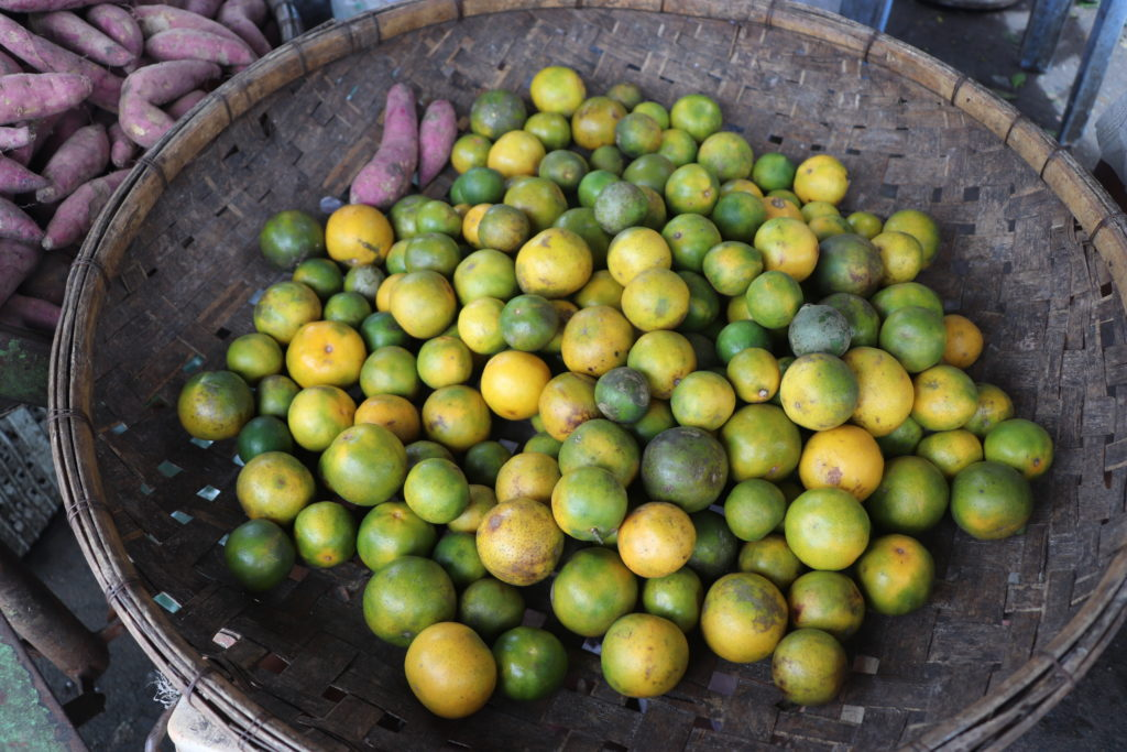 StreetNet's impact includes stopping police confiscation of market goods like these limes.