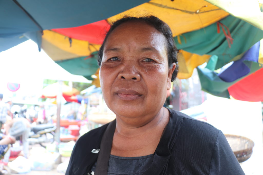 Nub Souen describes how our work has changed her street vending circumstances in our human impact stories